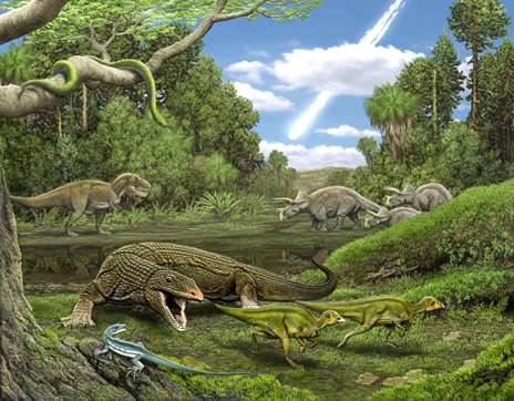 Asteroid that killed the dinosaurs also wiped out the 'Obamadon'