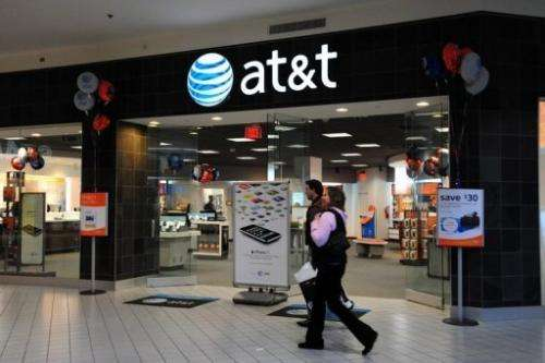 AT&T said it will be moving to get more spectrum to ease the crunch on wireless data