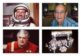 Beam them up: Ashes of 'Star Trek' actor in orbit (AP)