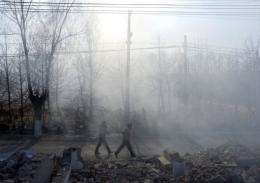 Beijingers have used China's hugely popular microblogging sites to express strong criticism about pollution in the city
