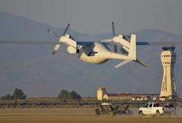 Boeing's Phantom Eye unmanned airborne system