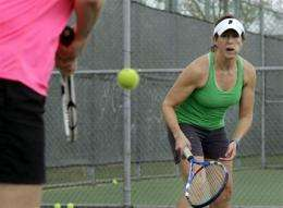 Boomers finding space for team, fitness sports (AP)