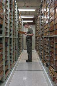 Bringing natural history collections out of the dark