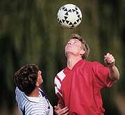 Can playing soccer lead to brain damage?