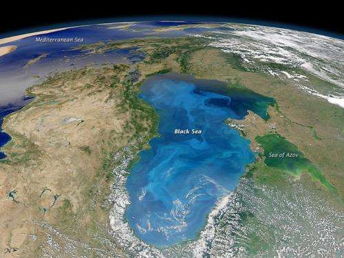 Carbon-eaters on the Black sea