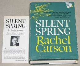 Carson's Silent Spring turns 50