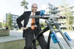 Cebit 2012: The wireless bicycle brake, a prototype on an exciting mission