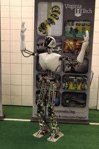 NRL designs robot for shipboard firefighting