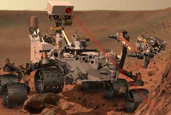 ChemCam laser sets its sights on first Martian target