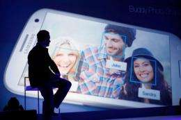 Chief Marketing Officerof Samsung Mobile USA, Todd Pendleton presents the new Galaxy S III