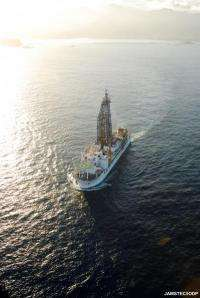 Chikyu to set sail for IODP expedition: Japan trench fast drilling project