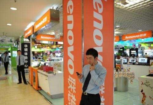 China-based Lenovo is thriving by selling the gamut of computing devices