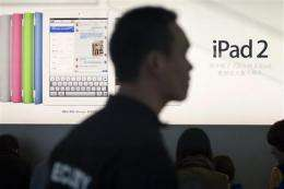 China official says Proview owns iPad trademark (AP)