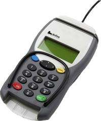 Chip and pin terminals shown to harvest customer info