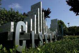 Cisco Systems said Monday it was cutting 1,300 jobs, or two percent of its global workforce