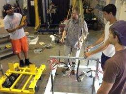 Clemson researchers transform machine to make runways safer