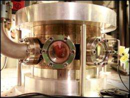 Cooling semiconductor by laser light