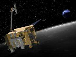 Cosmic rays alter chemistry of lunar ice