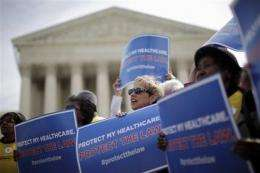Court takes health care case behind closed doors (AP)