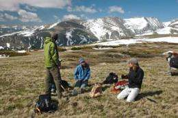 CU research shows warming climate threatens ecology at mountain research site west of Boulder