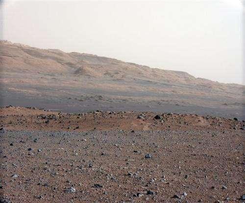 Curiosity beams new will.i.am song from Mars