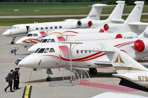 Dassault's Falcon business jets