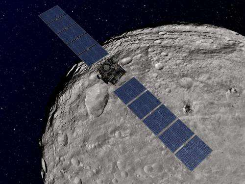 Dawn gets extra time to explore Vesta