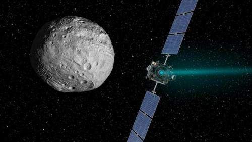 Dawn Prepares for Trek Toward Dwarf Planet