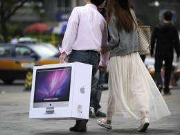 """Demand for Apple gadgets is """"mind-boggling"""" in China"""