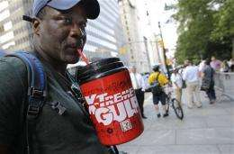 Docs: NYC ban on big, sugary drinks could help
