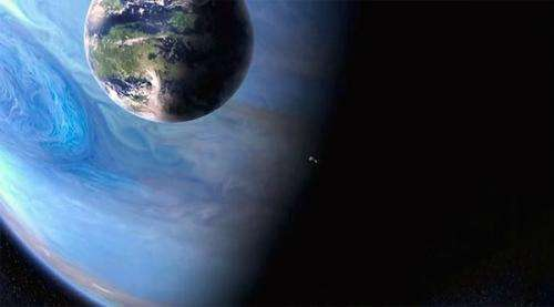 Do Moons of Gas Giants Affect the Habitable Zone?