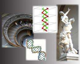 Chemists do a double take on the double helix