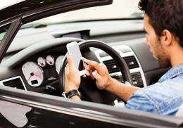 Do you know how much you're texting while driving?
