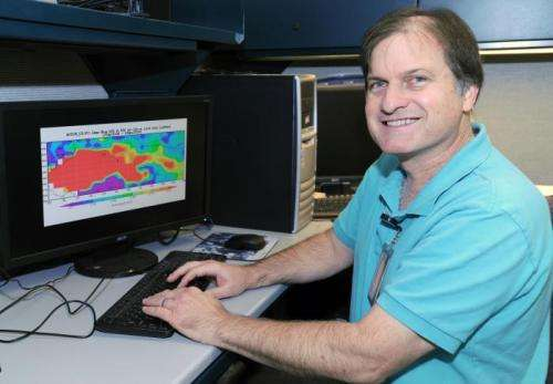Dust's warming counters half of its cooling effect