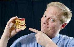 Edible 'stop signs' in food may halt overeating