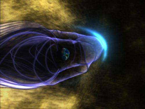 Electric Moon jolts the solar wind