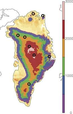 Enhanced melting of Northern Greenland in a warm climate
