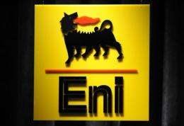 """ENI said Sunday that """"an act of sabotage"""" has caused a spill at one of its pipelines in Nigeria's Bayelsa state"""