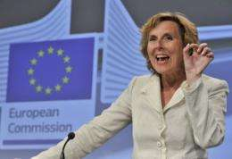 EU commissioner for Climate Action Connie Hedegaard