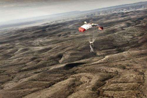 """Everything is looking very good"" for Sunday, Red Bull Stratos spokeswoman Sarah Anderson told AFP"