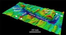 Expedition to undersea mountain yields new information about sub-seafloor structure