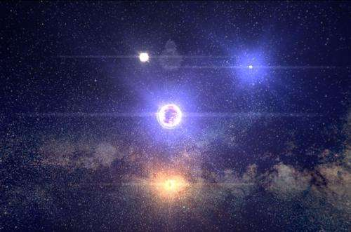 Explore the stellar neighborhood with new Milky Way visualization