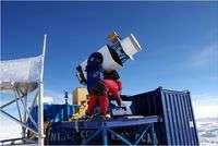 Extreme astronomy:  New telescope on high in Antarctica