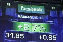 Facebook shares stabilizing, but probes mount (AP)