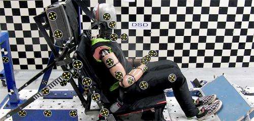 Female crash test dummy can reduce injuries