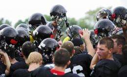Football findings suggest concussions caused by series of hits