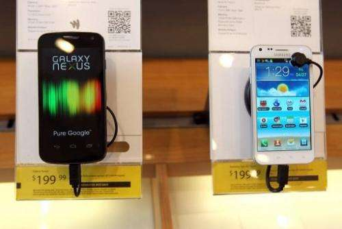 Galaxy devices are powered by Android operating software that Google makes available for free to gadget makers