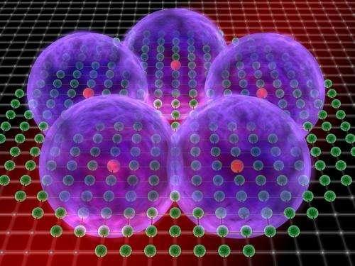 Geometry of super atoms
