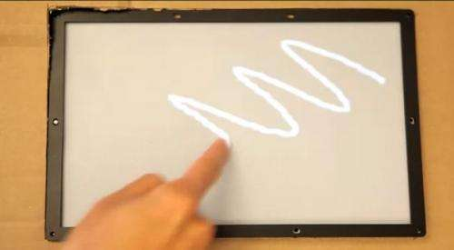 Microsoft puts finger on 1ms touchscreen (w/ video)