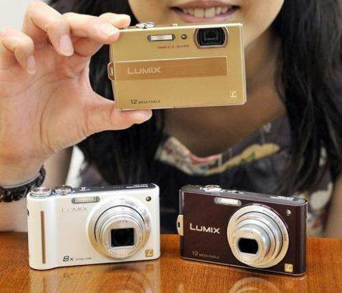 Global shipments of digital cameras among Japanese firms fell 42% in September year from sales a year ago